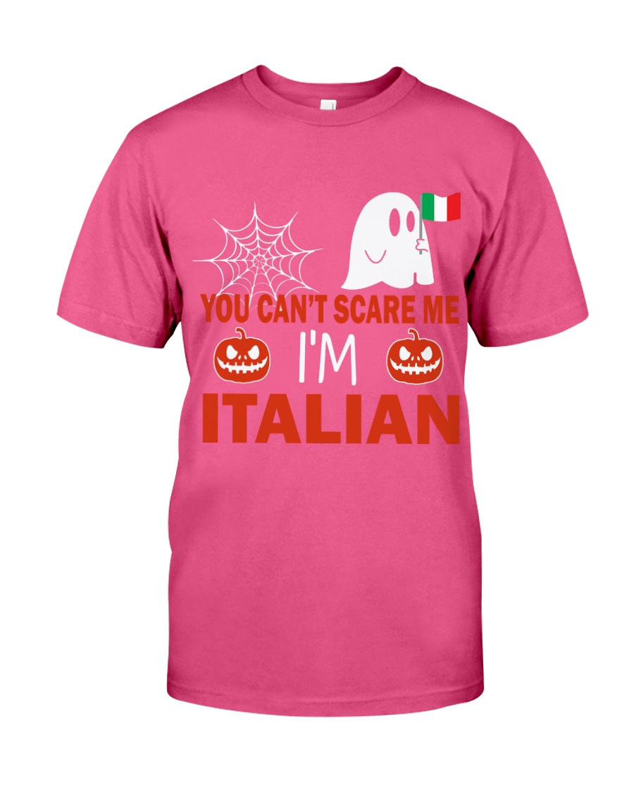 You can't scare me i'm Italian Premium Fit Mens Tee