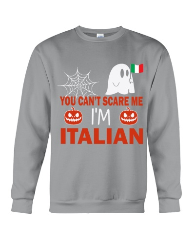 You can't scare me i'm Italian