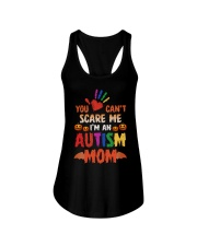 You can't scare me Ladies Flowy Tank tile