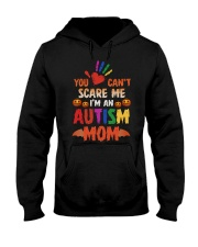 You can't scare me Hooded Sweatshirt tile