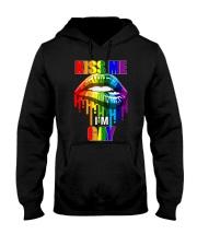 Kiss me I'm Gay Hooded Sweatshirt tile