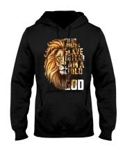 I'm no longer a slave to fear I am a child of God Hooded Sweatshirt tile