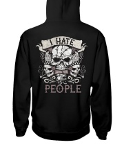 My size doesn't determine my worth Hooded Sweatshirt tile