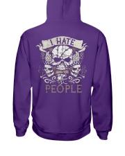 I am a native woman Hooded Sweatshirt back