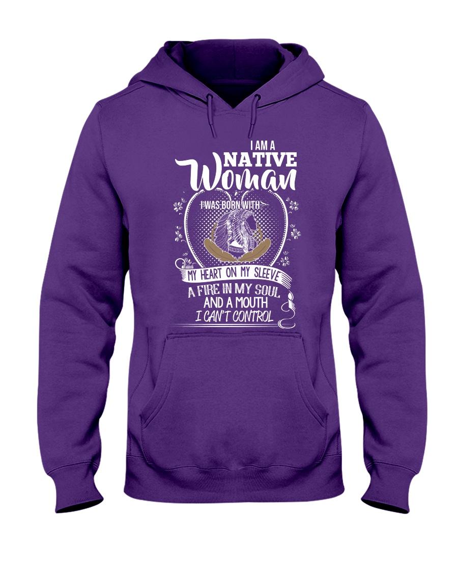 I am a native woman Hooded Sweatshirt