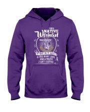 I am a native woman Hooded Sweatshirt front