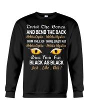 Black as Black Crewneck Sweatshirt tile