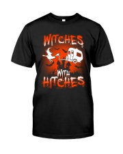 Witches with hitches Premium Fit Mens Tee tile