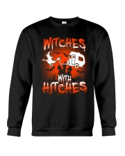 Witches with hitches Crewneck Sweatshirt tile