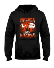Witches with hitches Hooded Sweatshirt tile