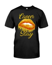 Cancer Slay Classic T-Shirt front