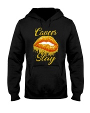 Cancer Slay Hooded Sweatshirt tile