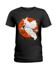 The Witches Moon Halloween  Ladies T-Shirt tile