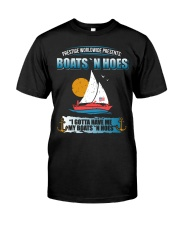 Boats N Hoes Classic T-Shirt front