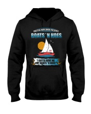 Boats N Hoes Hooded Sweatshirt thumbnail