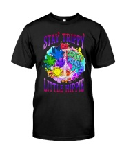 Stay trippy little hippie Premium Fit Mens Tee tile
