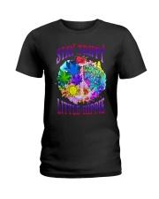 Stay trippy little hippie Ladies T-Shirt tile