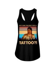 Funny Tshirt For Real Fan Ladies Flowy Tank tile