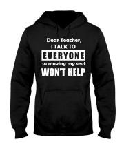 Dear teacher Hooded Sweatshirt tile