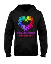 They all matter find the cure Hooded Sweatshirt thumbnail