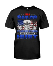 I'm a sailor i can fix stupid Premium Fit Mens Tee tile