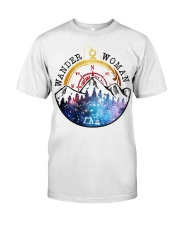 Wander Woman Camping Lovers Classic T-Shirt front