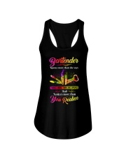 Bartender Knows More Than  Ladies Flowy Tank tile