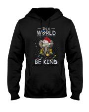 Autism Be Kind Elephant Hooded Sweatshirt tile