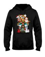 Hippie Bus Santa   Hooded Sweatshirt tile
