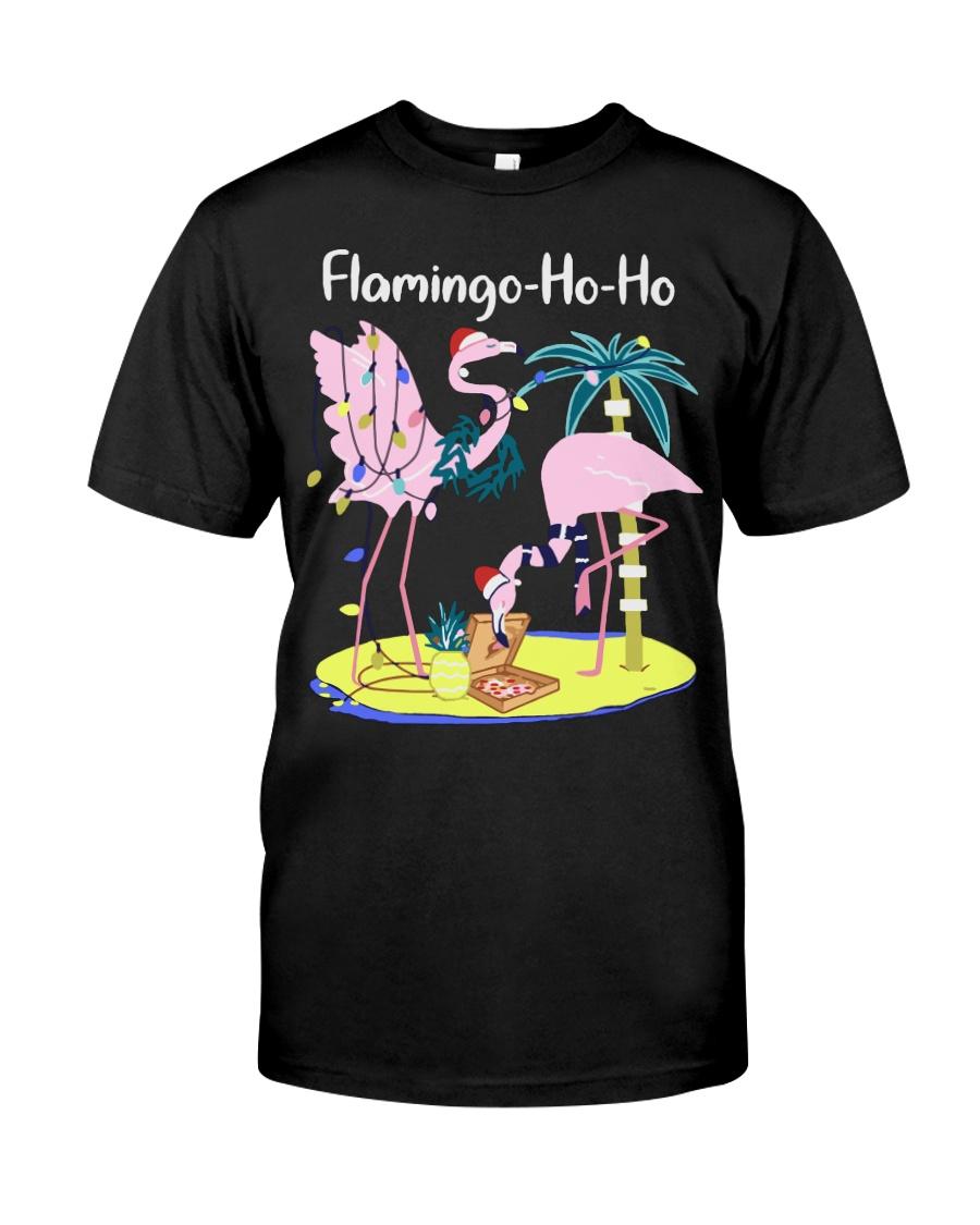 Flamingo Ho Ho Premium Fit Mens Tee