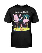 Flamingo Ho Ho Premium Fit Mens Tee front