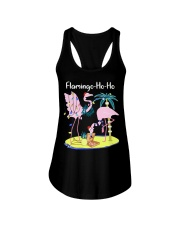 Flamingo Ho Ho Ladies Flowy Tank thumbnail