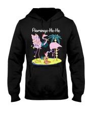 Flamingo Ho Ho Hooded Sweatshirt thumbnail