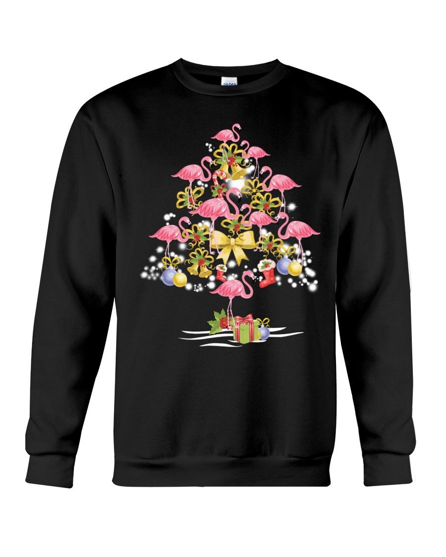 Flamingo Christmas Crewneck Sweatshirt