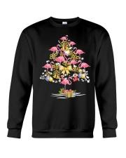 Flamingo Christmas Crewneck Sweatshirt thumbnail