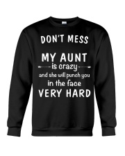 Don't mess my aunt Crewneck Sweatshirt thumbnail