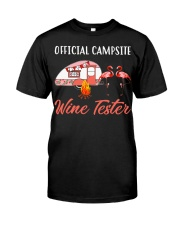 Official campsite wine tester Classic T-Shirt front