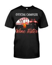 Official campsite wine tester Premium Fit Mens Tee tile