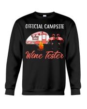 Official campsite wine tester Crewneck Sweatshirt tile