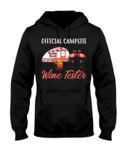 Official campsite wine tester Hooded Sweatshirt thumbnail