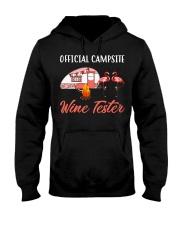 Official campsite wine tester Hooded Sweatshirt tile