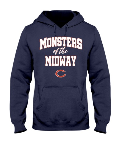 Monsters of the midway chicago bears Hoodie