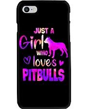 Girl Loves Pitbull Phone Case thumbnail