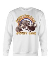 Support Your Local Street Cats Crewneck Sweatshirt thumbnail