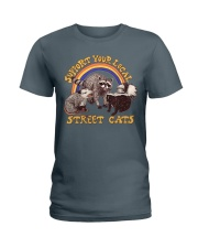 Support Your Local Street Cats Ladies T-Shirt thumbnail