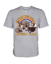 Support Your Local Street Cats V-Neck T-Shirt thumbnail