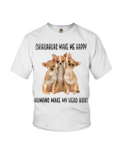 Chihuahua Make Me Happy Youth T-Shirt thumbnail