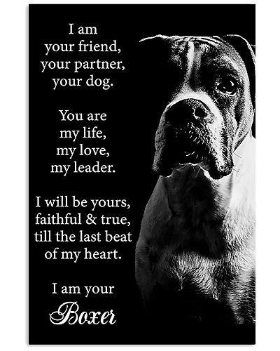 Boxer Friend Poster