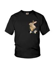 Rabbit Pocket Youth T-Shirt thumbnail