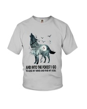 Wolf Soul  Youth T-Shirt thumbnail